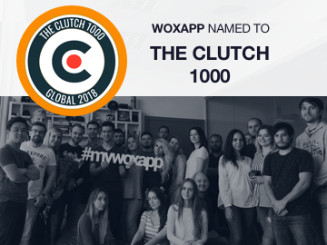 WOXAPP Named to The Clutch 1000