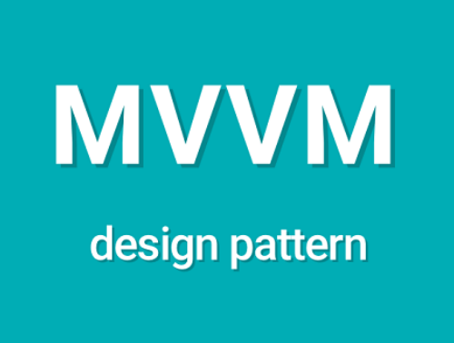 The use of the ModelViewViewModel pattern on Android