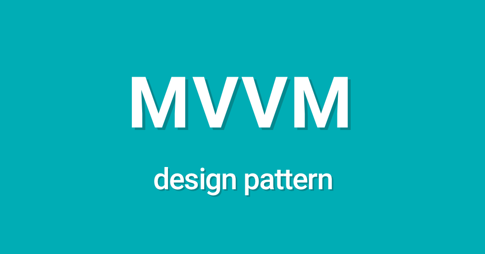 mvvm design pattern android