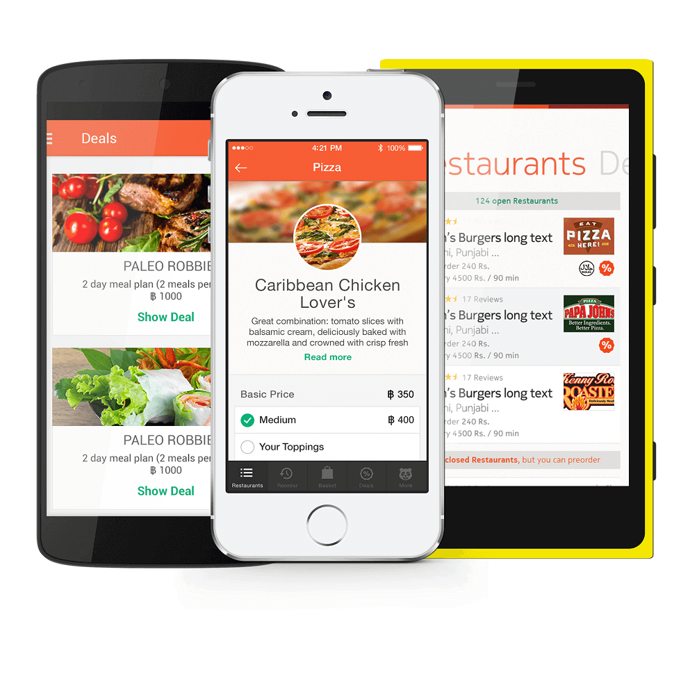 Customer App Foodpanda