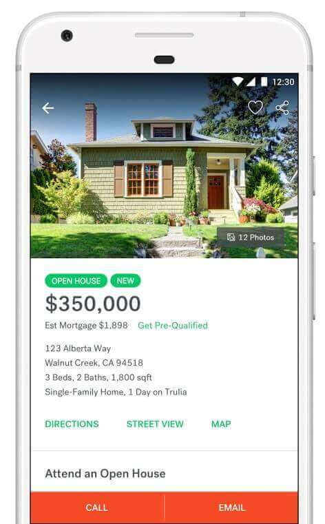 build real estate app