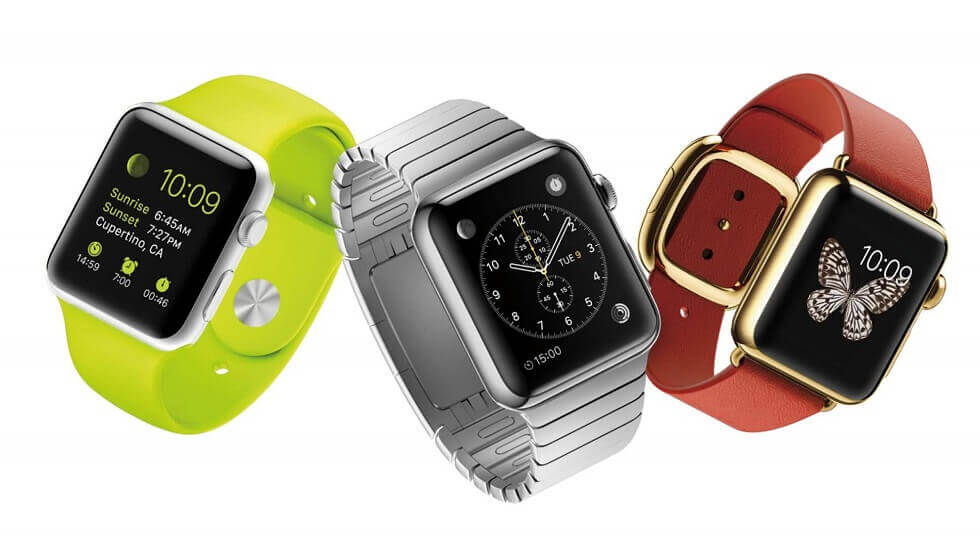 Смарт-часы Apple Watch, Android Watch.