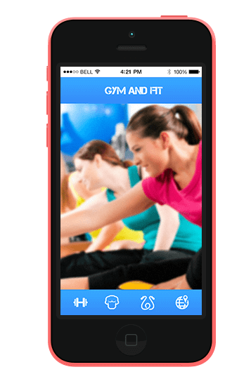 development of fitness mobile apps